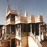 The Jain Temple close to Shri Ambalalbhai house